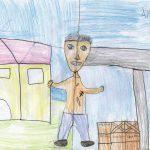 Prosegue fino al 15 aprile la mostra 'Mai senza l'Altro: i bambini disegnano la povertà'