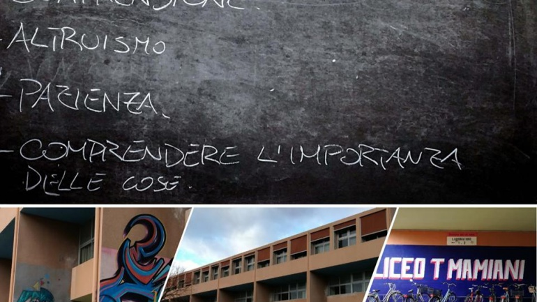 14 maggio 2018: incontro con gli studenti al Cinema Loreto di Pesaro