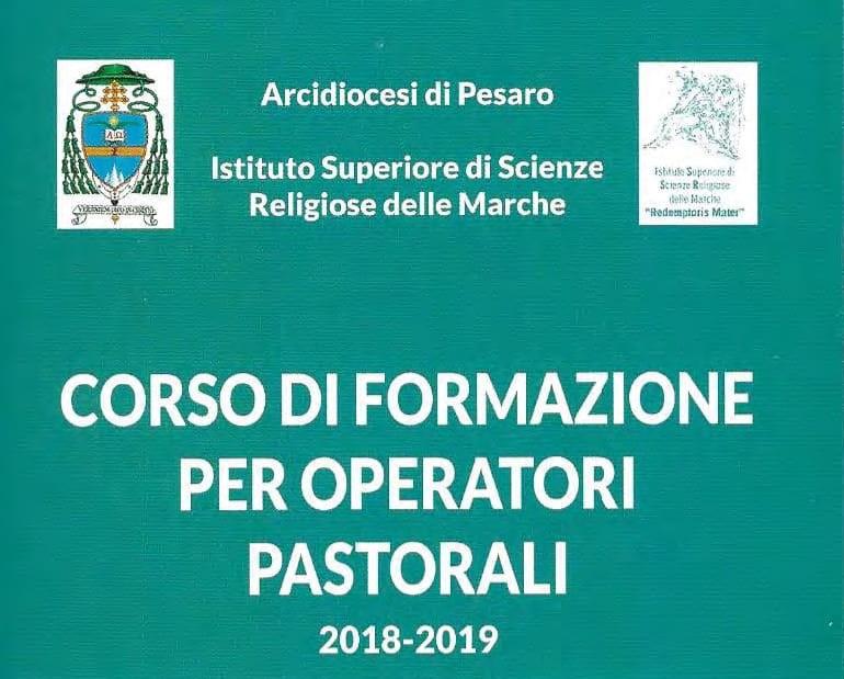 Corso di Formazione per Operatori Pastorali 2018/2019