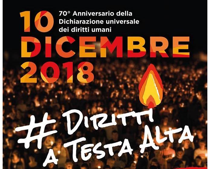 10 dicembre, ore 18.30: #DirittiATestaAlta