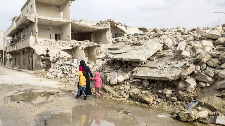 Siria: il coraggio del dialogo. Dossier Caritas a 8 anni dall'inizio del conflitto