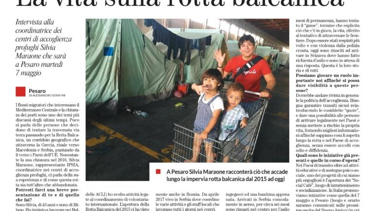 """Su """"Il Nuovo Amico"""" di domenica 14 aprile la prima pagina a cura dei ragazzi del Servizio Civile in Caritas"""
