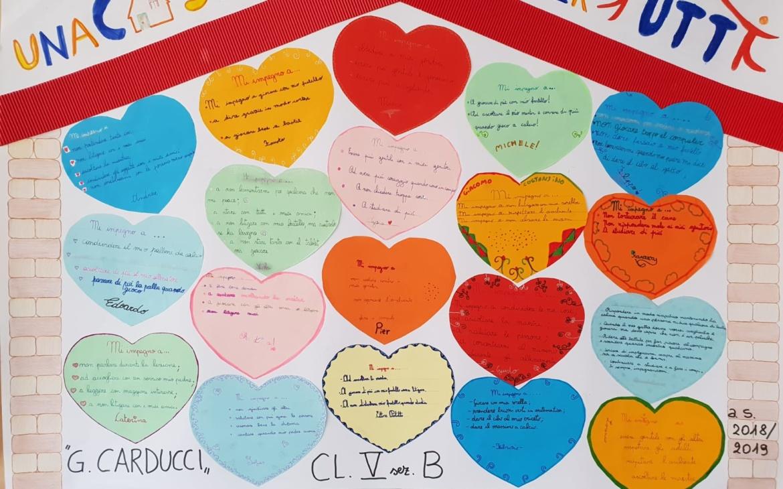 """La Caritas incontra le 5° classi di alcune scuole primarie del territorio per parlare di """"accoglienza"""" insieme"""