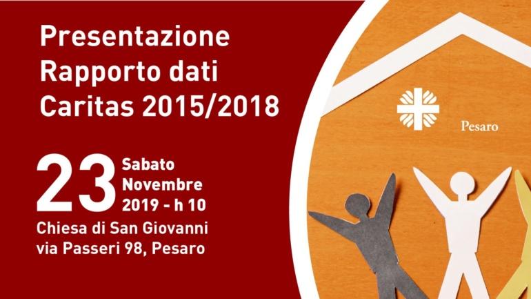 Rapporto Dati Caritas 2015/2018