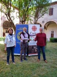Caritas Pesaro ringrazia il Rotary Club Pesaro Rossini