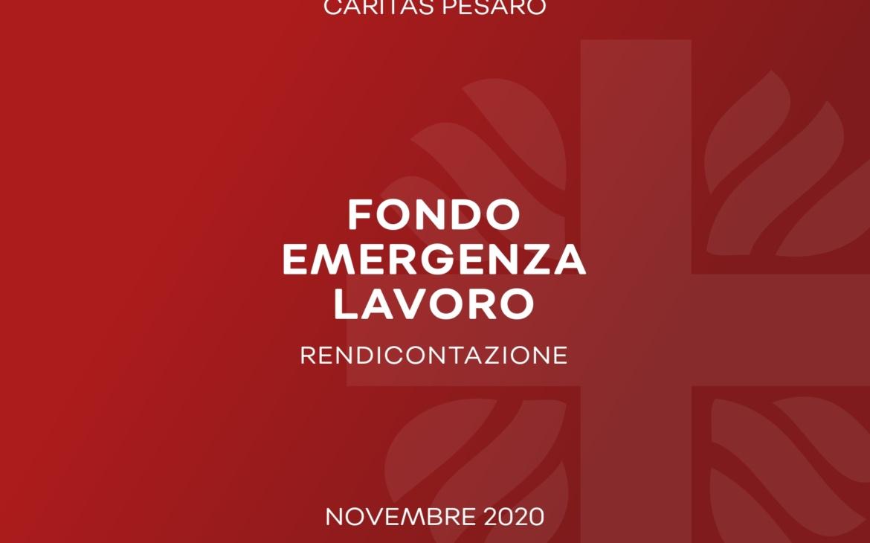 Fondo Emergenza Lavoro. I dati definitivi